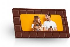 Mléčná čokoláda 50g - vložená fotka 1