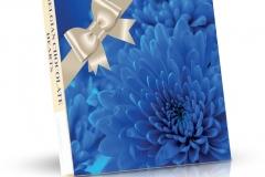 Belgická čokoládová srdíčka 200g - Modrá jiřina
